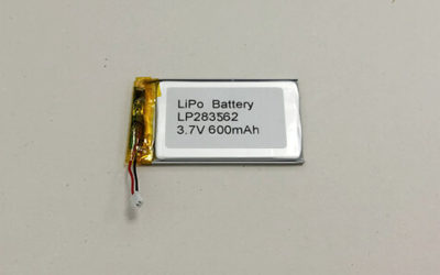 Small LiPo Battery—LP283562 3.7V 600mAh
