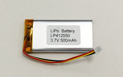 Li Po Battery-LP412550 3.7V 500mAh