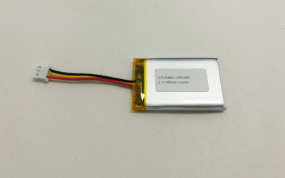 3.7V Li Po Battery LP523450 980mAh 3.62Wh