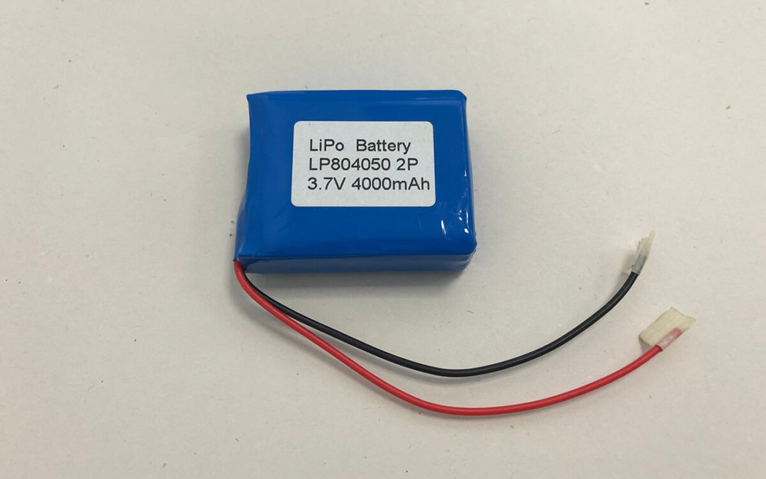 LiPo Battery Pack LP804050 2P 3.7V 4000mAh 14.8Wh