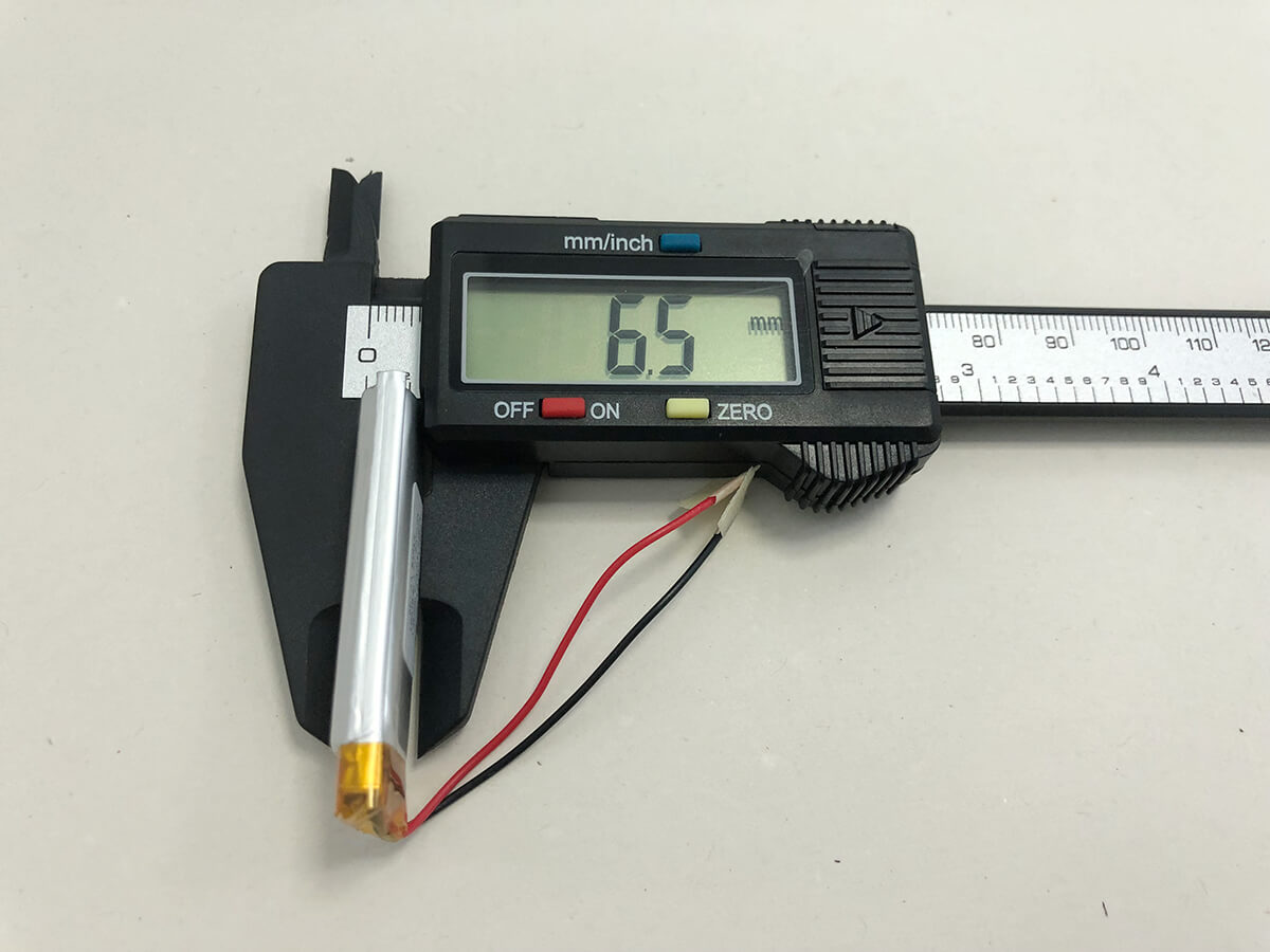 LiPo_Battery_LP651648 3.7V 450mAh 1