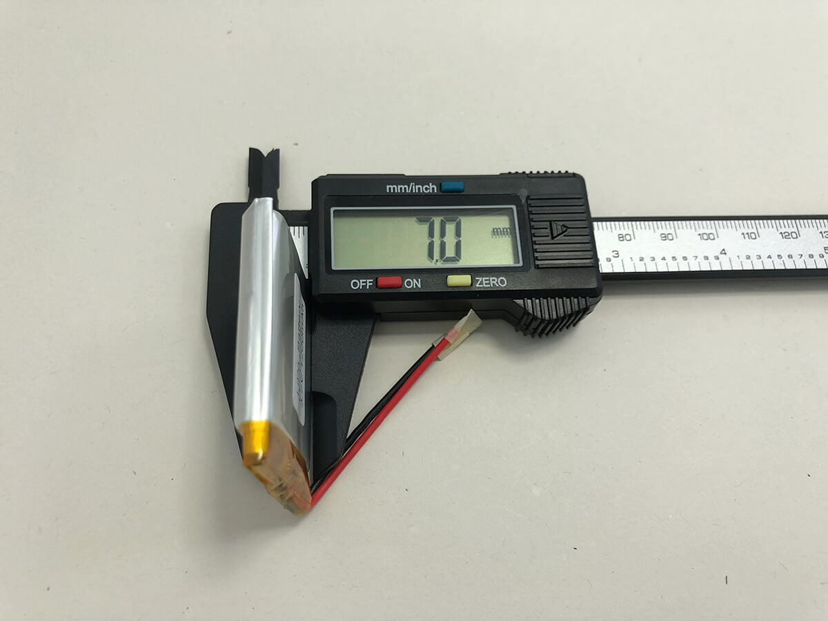 LiPo_Battery_LP704044 3.7V 1200mAh 1