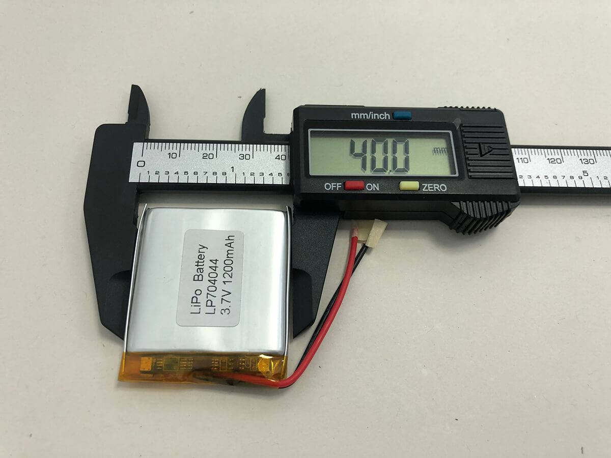 LiPo_Battery_LP704044 3.7V 1200mAh 2