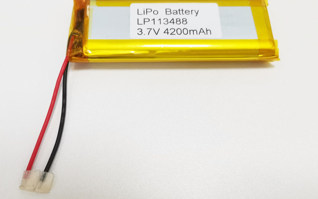 LiPo Battery LP113488 3.7V 4200mah