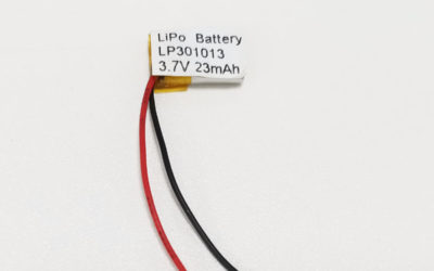 LiPo Battery LP301013 3.7V 23mAh