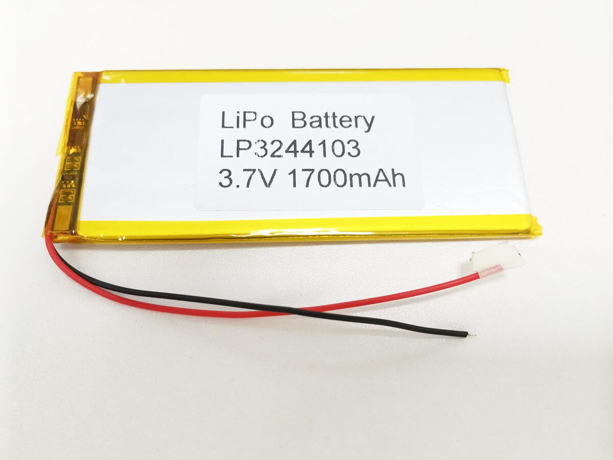 LiPo_Battery_LP3244103_1700mAh