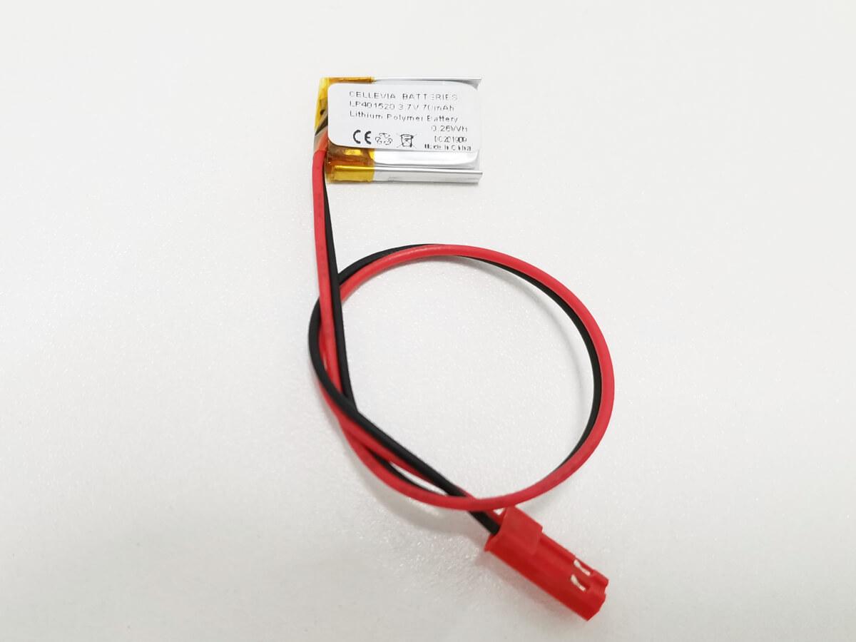 LiPo_Battery_LP401520_70mAh