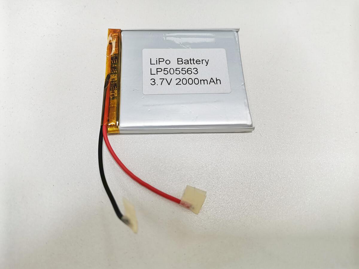 LiPo_Battery_LP505563_2000mAh