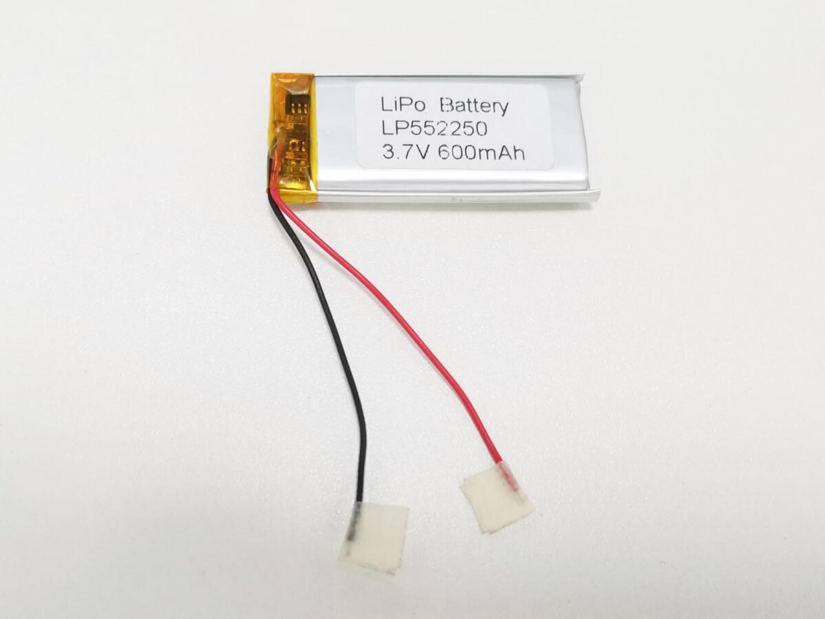 LiPo_Battery_LP552250_600mAh