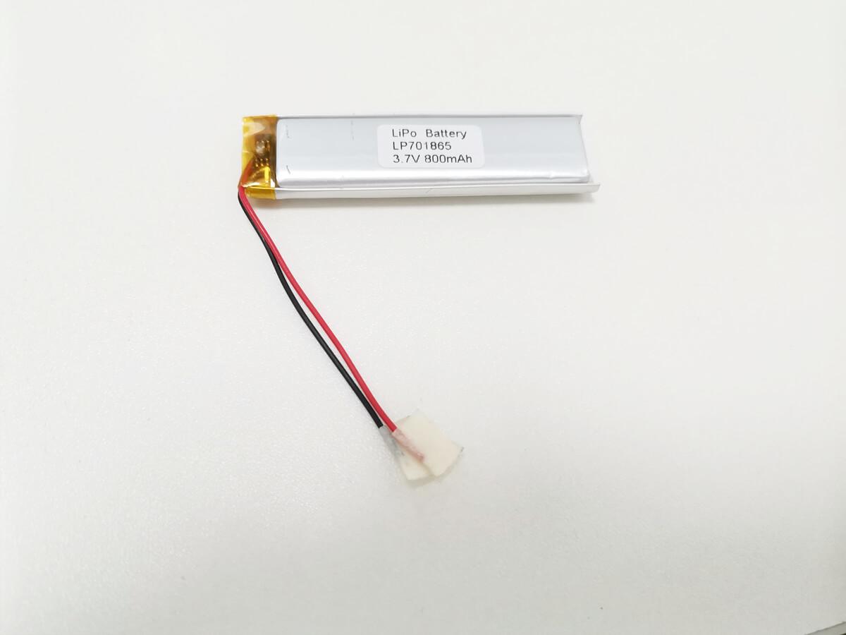 LiPo_Battery_LP701865_800mAh