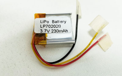 LiPo Battery L702020 3.7V 230mAh