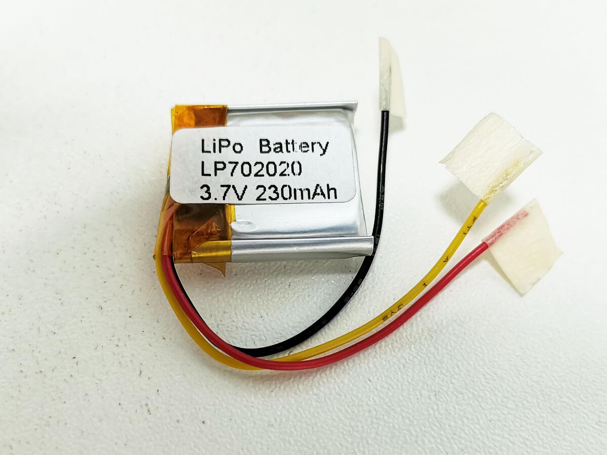 LiPo_Battery_LP702020_230mAh