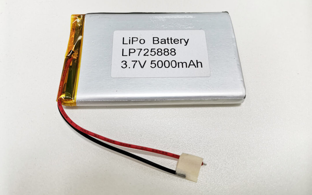 LiPo Battery LP725888 3.7V 5000mah