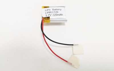 LiPo Battery LP901720 3.7V 220mAh