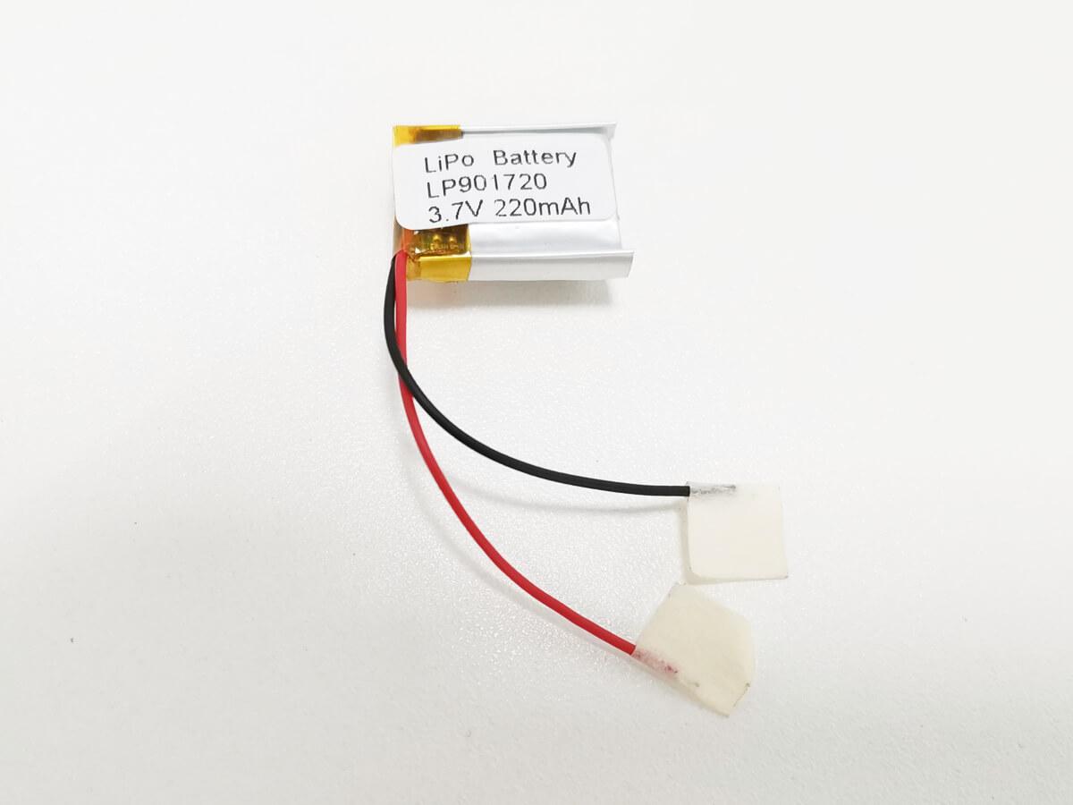 LiPo_Battery_LP901720_220mAh