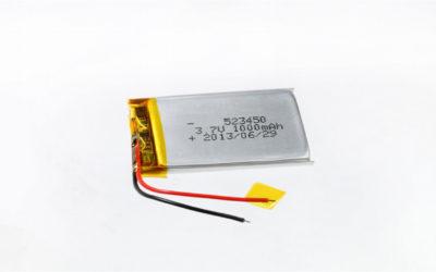 LiPo Battery LP523450 3.7V 1000mAh