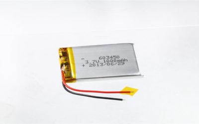 LiPo Battery LP603450 3.7V 1000mAh