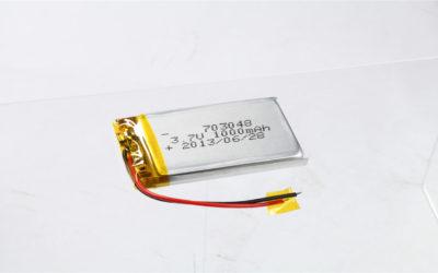 LiPo Battery LP703048 3.7V 1000mAh