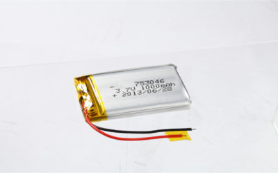 LiPo Battery LP753046 3.7V 1000mAh
