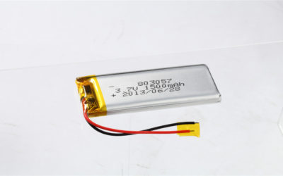 LiPo Battery LP803057 3.7V 1500mAh