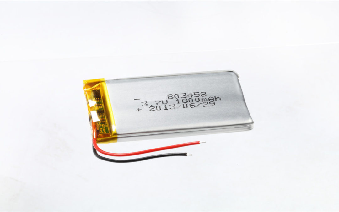 LiPo Battery LP803458 3.7V 1800mAh