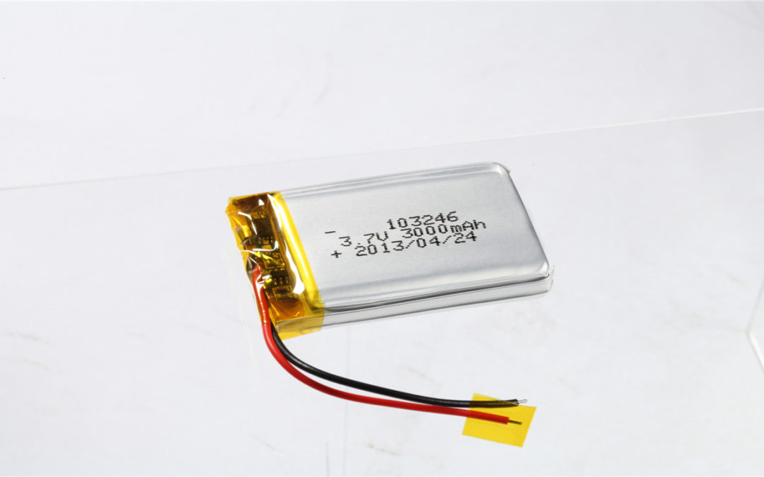 LiPo Battery LP103246 3.7V 3000mAh