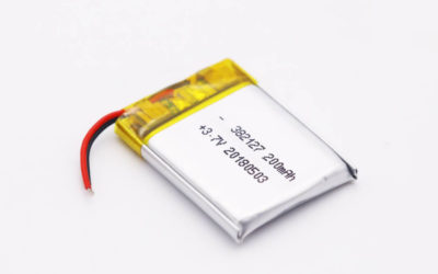 LiPo Battery LP382127 3.7V 200mAh