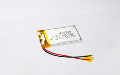 LiPo Battery LP452540 3.7V 420mAh