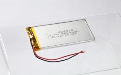 LiPo Battery LP484379 3.7V 2000mAh