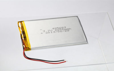 LiPo Battery LP485683 3.7V 2600mAh