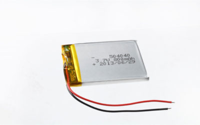 LiPo Battery LP504040 3.7V 800mAh