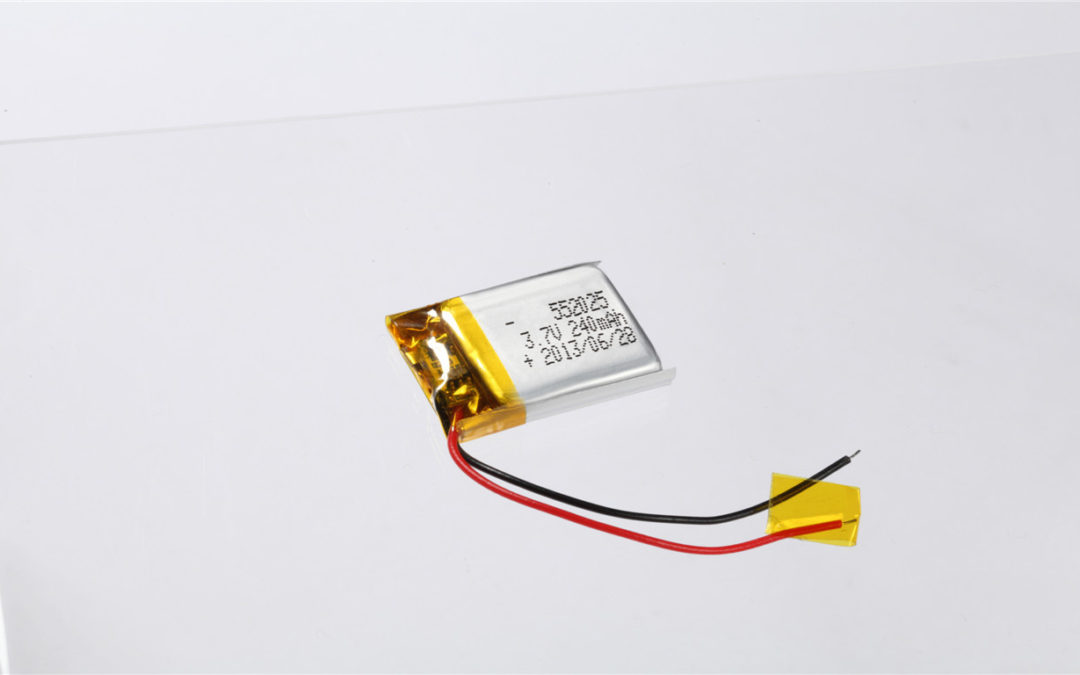 LiPo Battery LP552025 3.7V 240mAh