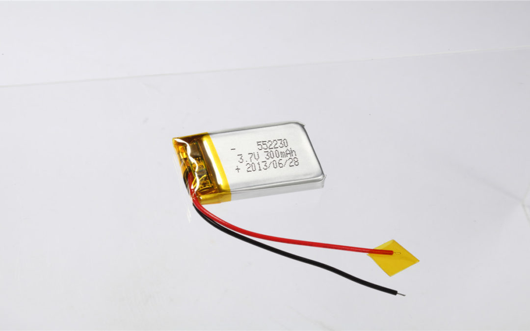 LiPo Battery LP552230 3.7V 300mAh