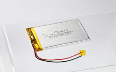 LiPo Battery LP554475 3.7V 2000mAh