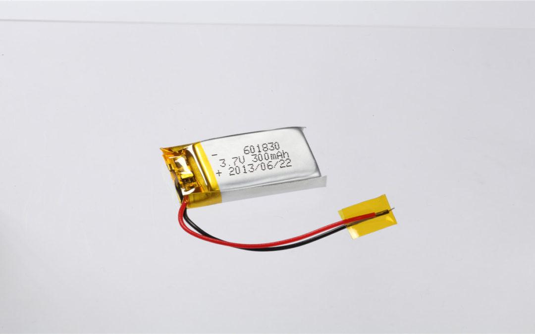 LiPo Battery LP601830 3.7V 300mAh