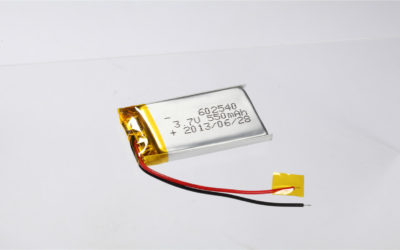LiPo Battery LP602540 3.7V 550mAh