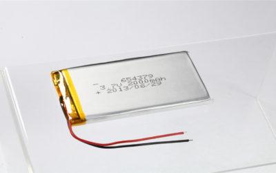 LiPo Battery LP654379 3.7V 2000mAh