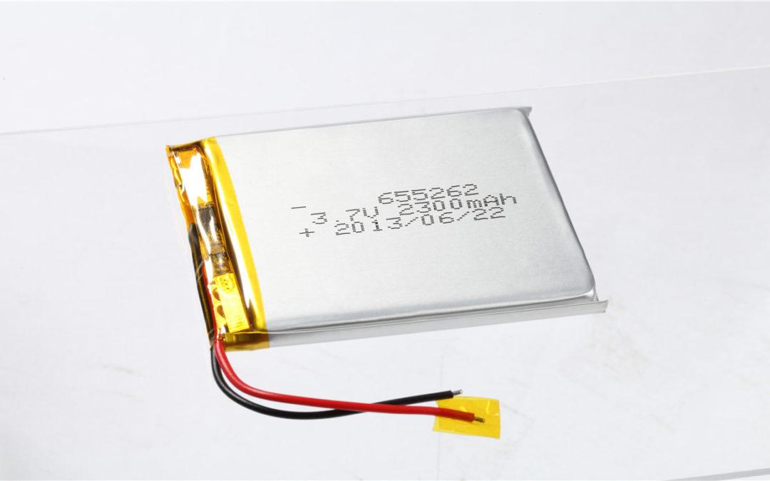 LiPo Battery LP655262 3.7V 2000mAh