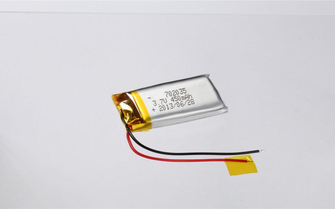 LiPo Battery LP702035 3.7V 450mAh