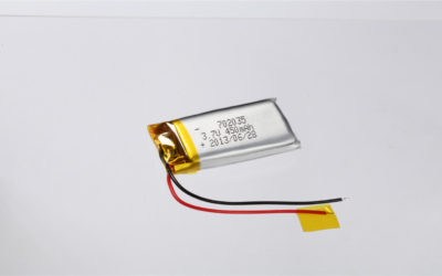 LiPo Battery LP702035 3.7V 450mAh