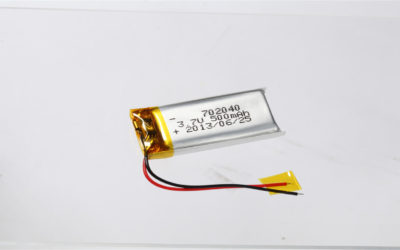 LiPo Battery LP702040 3.7V 500mAh