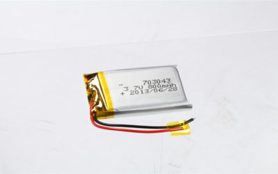 LiPo Battery LP703043 3.7V 800mAh