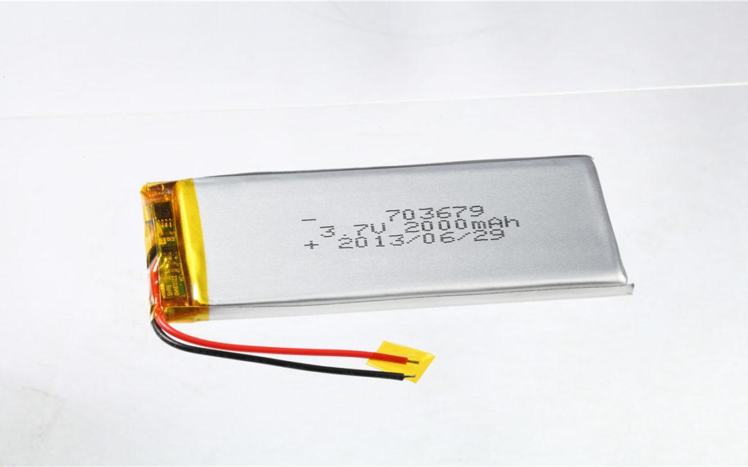 LiPo Battery LP703679 3.7V 2000mAh