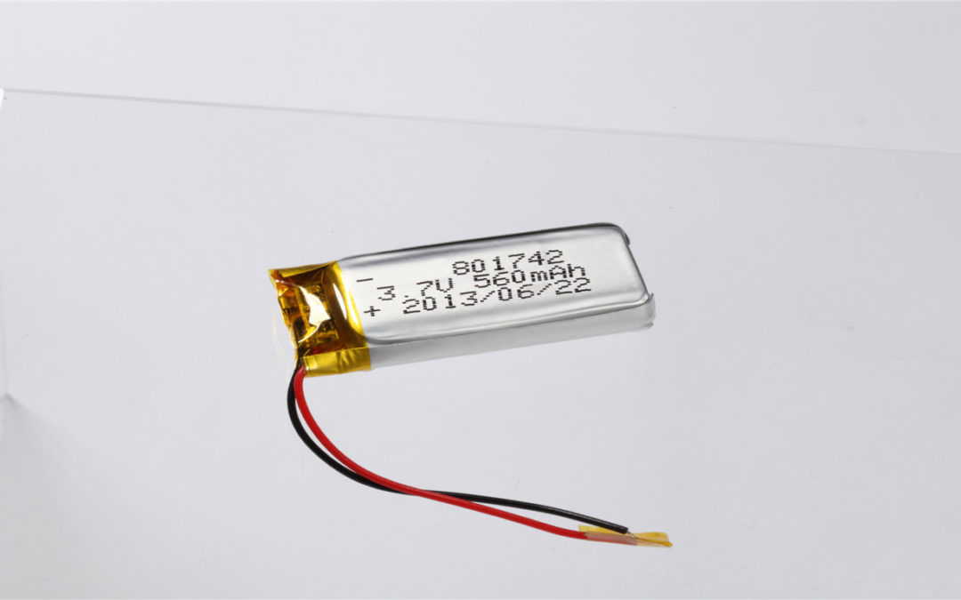 LiPo Battery LP801742 3.7V 560mAh