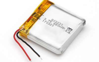 LiPo Battery LP803030 3.7V 650mAh