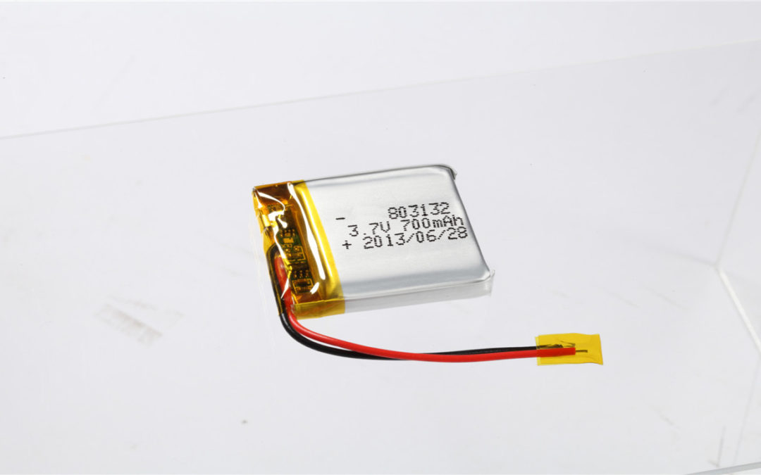 LiPo Battery LP803132 3.7V 700mAh