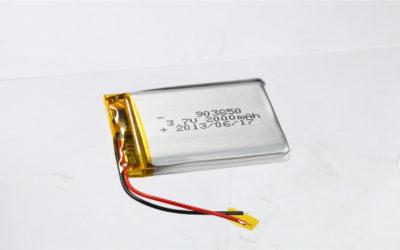 LiPo Battery LP903850 3.7V 2000mAh