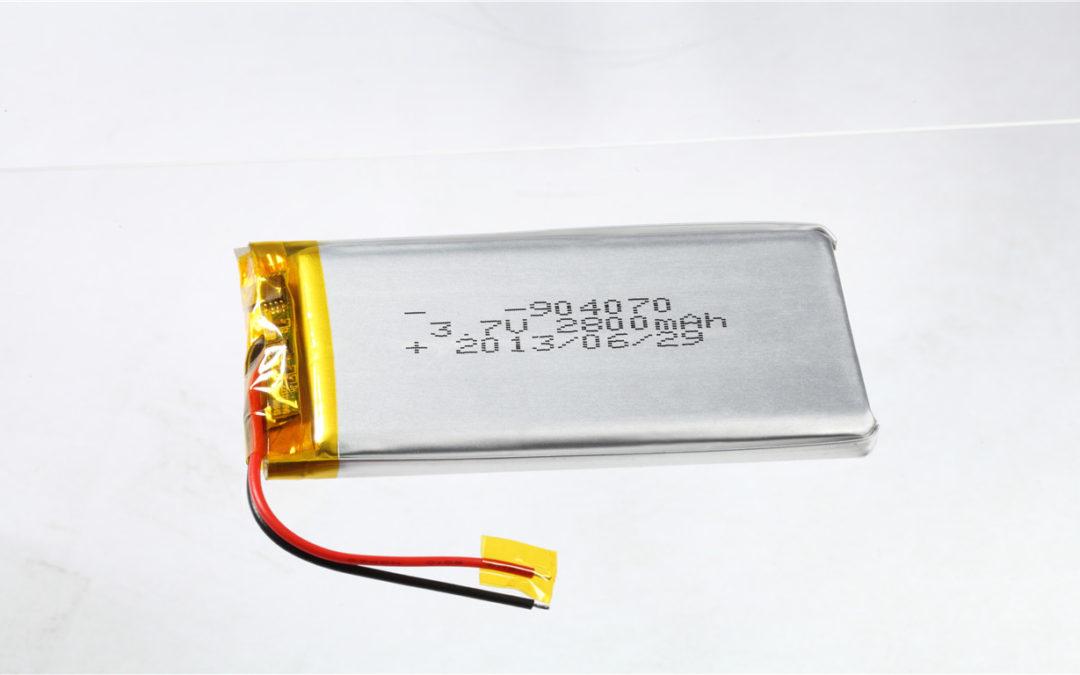 LiPo Battery LP904070 3.7V 2800mAh