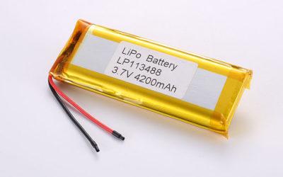 LiPo Battery LP113488 3.7V 4200mah