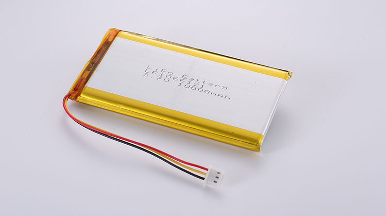 LiPo Batteries LP1066121 10000mAh with PCM & NTC & wires 100mm & JST ACHR-03V-S